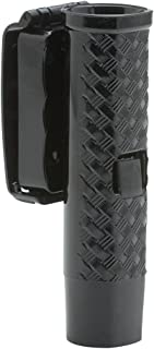 21-26-Inch Friction Lock Front Draw Baton Holder with 45 Degree Swivel Clip-On Basket (Black)
