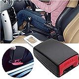 Junzheng 2 Piezas Cinturón Seguridad Extensiones, Hebillas de Enchufe de Automóvi para Movilidad Limitada, Bandejas de Extensión de Automóvil para la Mayoría de los Automóviles