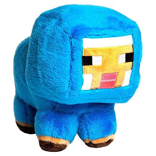 "JINX Minecraft Blue Baby Sheep Plush Stuffed Toy, Blue, 7"" Tall"