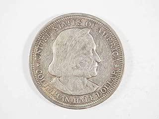 1893 P Columbian Exposition Half Dollar Commemorative Ungraded