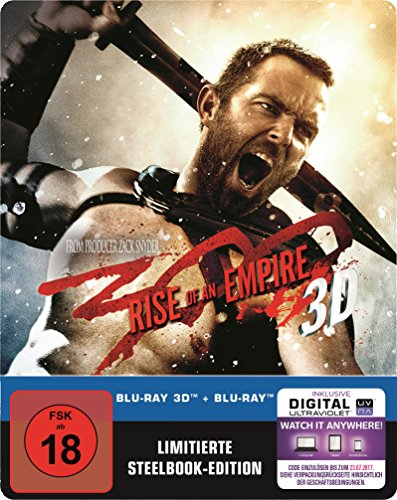 300: Rise of an Empire 2D/3D Steelbook (exklusiv bei Amazon.de) [3D Blu-ray] [Limited Edition]