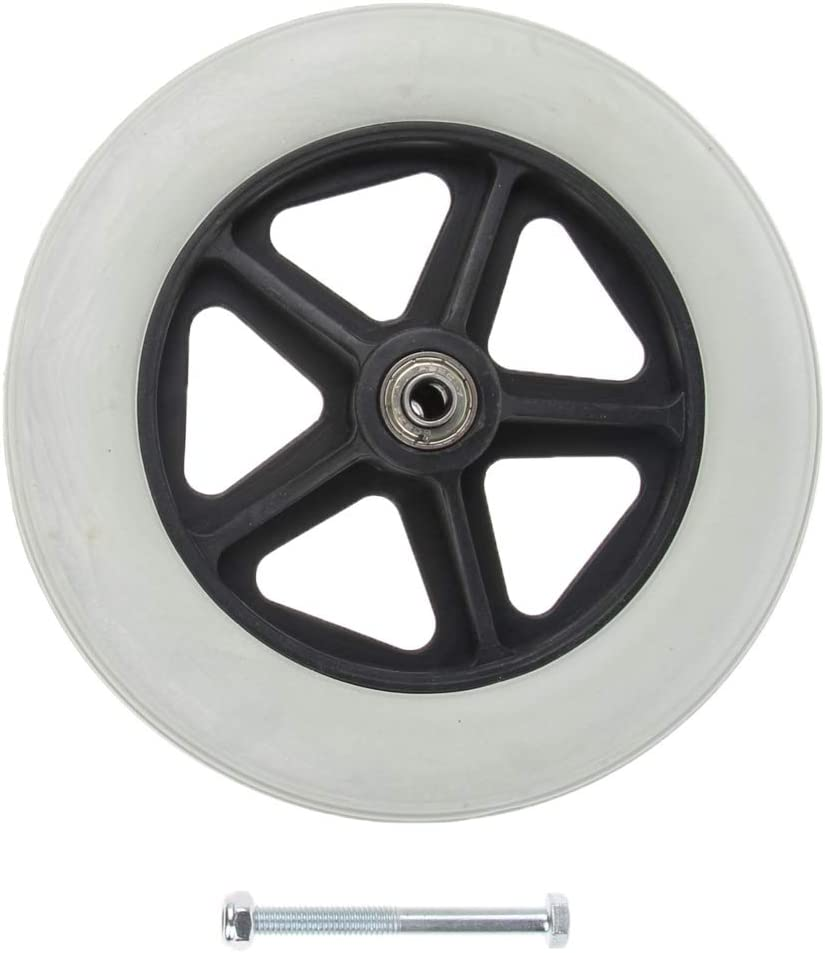 menolana 8 Inch Solid Tyre OFFicial site Walking Max 67% OFF Aids Wheelchairs Caster Front