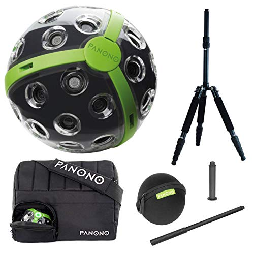 Action Cam 360 PANONO Explorer Edition 360° Panoramakamera (108 MP - Wi-Fi - 480g)
