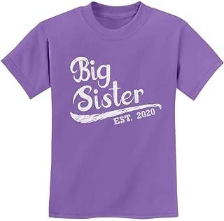 Big Sister Est 2020 - Sibling Gift Idea Youth Kids T-Shirt