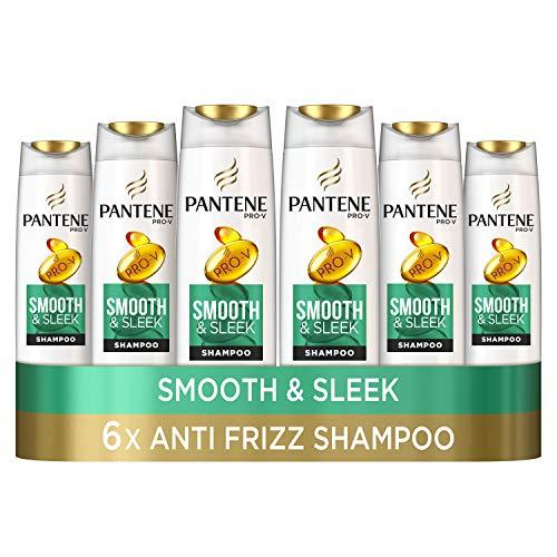 Pantene Pro-V Shampooing lisse et lisse, anti-frisottis, sans silicone