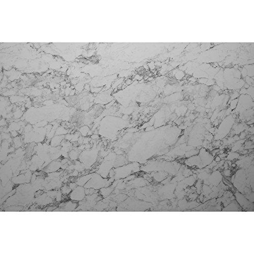 SIBU WALL ELEMENTS Dekorplatte aus glasfaserverstärktem Polypropylen | 50x60 cm | Dekor: DM MARBLE White | 2 Stück