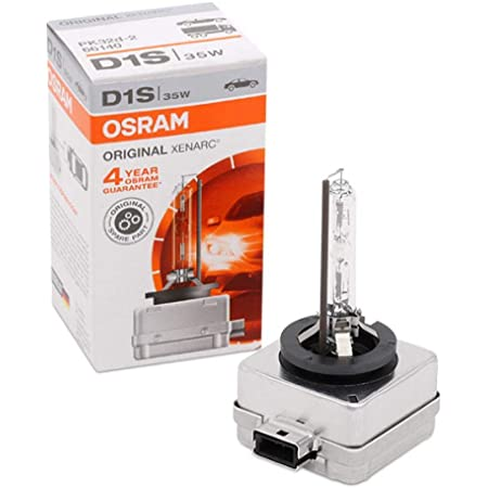 Osram Xenarc Original D1s Hid Xenon Brenner Entladungslampe Erstausrüsterqualität Oem 66140 Faltschachtel 1 Stück Auto
