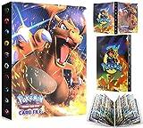 EMZOH Porte-cartes Pokémon, Album Carte, Cahier Carte, Livre Carte Album de Cartes à...
