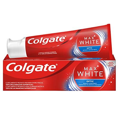 Colgate Dentifricio Max White Optic, 75ml