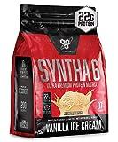 Vanilla Ice Cream, 97 Servings: BSN SYNTHA-6 Protein Powder, Whey Protein, Micellar Casein, Milk Protein Isolate, Flavor: Vanilla Ice Cream, 97 Servings casein protein powders May, 2021