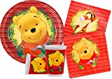 Ciao Y4479  Kit Party-Winnie The Pooh Weihnachten