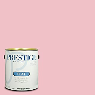 Prestige Paints P100-P-SW6590 Interior Paint and Primer in One, 1-Gallon, Flat, Comparable Match of Sherwin Williams Loveable, 1 Gallon, SW80-Loveable