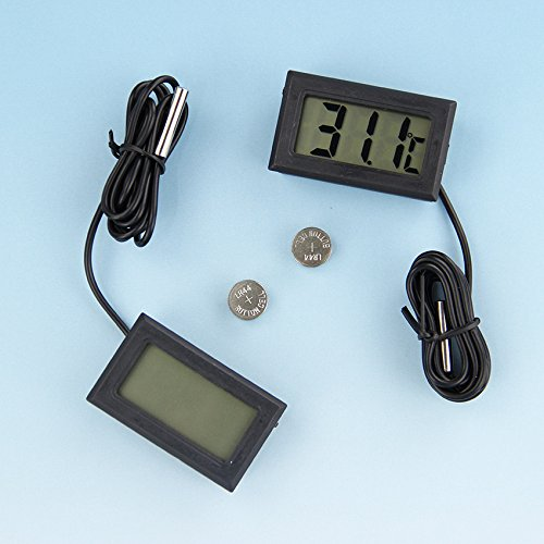 1 Pcs Mini LCD Digital Thermometer Temperature Instruments Probe Tool Thermograph Kitchen Refrigerator -50~ 110 Degree Termometro