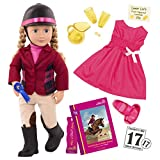 Our Generation  Dolls Lily Anna and Adventures at Shelby Stables, Muñeca de 46 cm