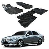| 3D Tapis DE Sol en Caoutchouc Premium Compatible avec Mercedes E-Class W212 2011-17...