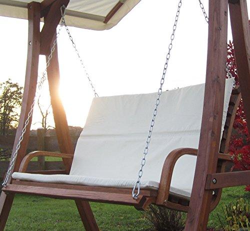 ASS Design Bank aus Holz Lärche für Hollywoodschaukel 2-Sitzer KUREDO (ohne Gestell!!!) von - 3