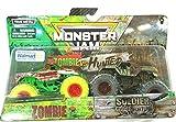 MonsterJam 2020 [Zombie vs Hunter] 1:64 Scale Double Pack Zombie Vs Soldier Fortune