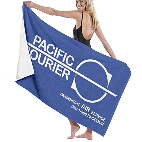 XCNGG Die Hard Pacific Courier, Trucker Cap Bath Towel Five Star Hotel Quality .Premium Collection Bathroom Towel.Soft,Plush and Highly Absorbent (1 Bath Towel 31x59 Inches)