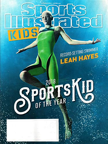 Sports Illustrated for Kids Magazine December 2018 | Leah Hayes – Sports Kid of the Year