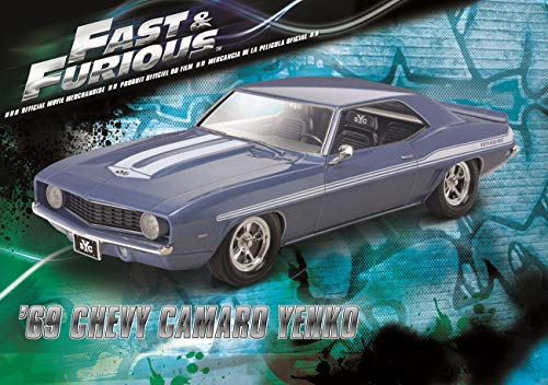 Revell Fast & Furious 69 Chevy Yenko Camaro Model Kit