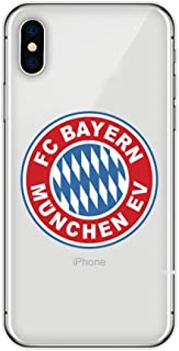 Mirage Cases Soccer Team Club Protective Thin Transparent Case Compatible with iPhone 7 / iPhone 8 (Style 16, for iPhone 7 / iPhone 8)