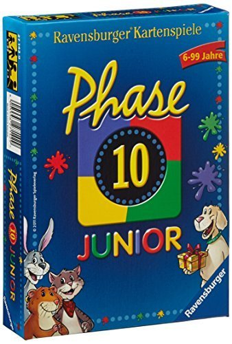 Phase 10 - Junior [German Version] by Ravensburger Spieleverlag