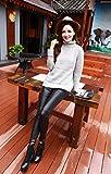 IHRKleid Damen Leggings Schwarz Baumwolle Legging M/L/XL/XXL (EU36(Asia M), Schwarz) - 6