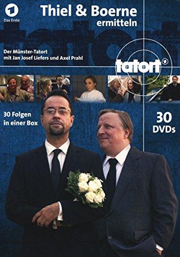 Münster - Thiel und Boerne ermitteln: Fall 1-30 (30 DVDs)