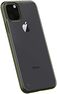 HONTECH Clear Case for iPhone 11 Pro Max, Translucent Matte Case Hard PC Cover with Soft TPU Edge, Ultra Thin Military Grade Drop Case 6.5
