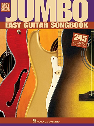 Jumbo Easy Guitar Songbook (Easy Guitar with Notes & Tab) (English Edition)