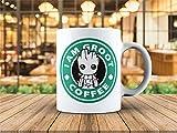 Guardian Of Galaxy 11 oz Coffee Mug Cup I am Baby Groot, Gift
