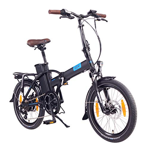 "NCM London 20"" E-Bike, E-Faltrad, 36V 15Ah 540Wh (Schwarz)"