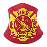 Unisex Fire Fighters Fire Department Reusable Face Cover Balaclava Bandana Neck Gaiters Seamless Dust Protection Protection Scarf