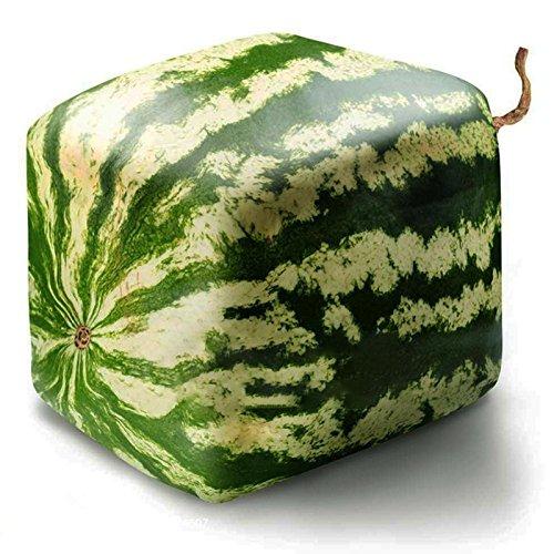 Générique Generic Square Watermelons Seeds Home Jardin Simple Géométrique Fruits Doux Plantes-30Pcs / Pack