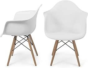 Cadeira Charles Eames Wood Com Braço - Marca Inovartte -