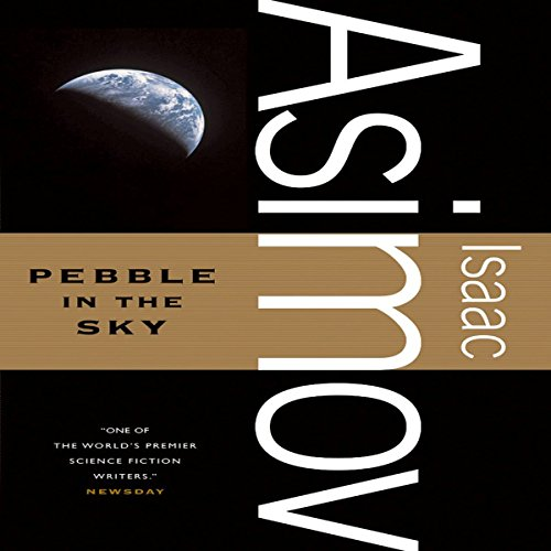 Pebble in the Sky audiobook cover art