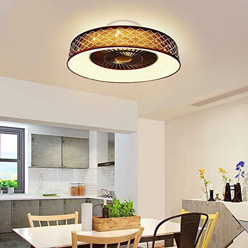 Depuley Ventiladores para el techo con lámpara