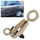 Qiilu 5 Ton Top & Straight 2-Way Self-Tightening Frame Grips Auto Body Repair Pull Clamp