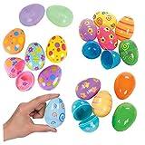 Huevos De Pascua Coloridos Huevos De Pascua Pintados De Plástico Sorpresa De Pascua Linda Regalo De Los Juguetes Huevos De Pascua para Kid Artículos De Fiesta