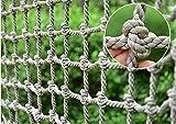 Seilnetz,Kletternetz Sicherheitsnetz füR Kinder PKW Netz Strickleiter Balkon-Netz Ladung-Netz...
