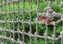 top rated Children's Climbing Net, Safety Net Cargo Rope Ladder Truck Trailer High Performance Net Balcony… 2021