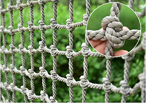 HWJ Climbing Cargo Net,Climbing Net for Kids Playground Rock Rope Cords Ladder Swing Sets Climb Nylon Play Climbers Equipment Structures Truck Trailer Container Tailgate Nets
