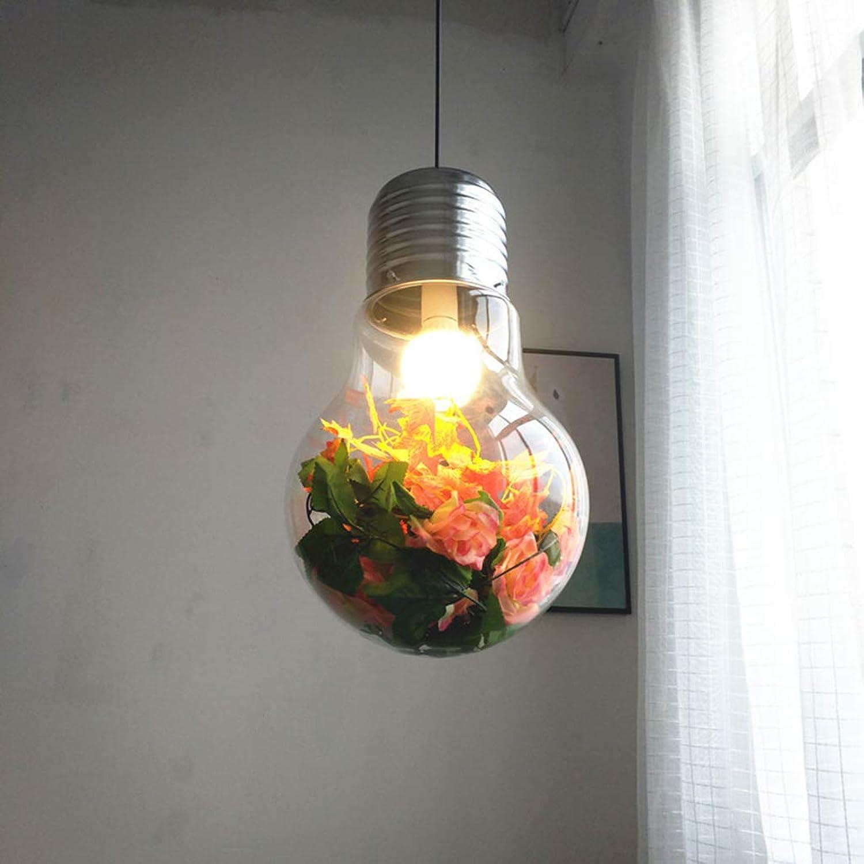 Creative Glass Pendelleuchte, Rustikal Deckenleuchte Bedside Wohnzimmer-Kronleuchter Erkerfenster Restaurant Hotel Cafe-Hngelampe überzug,M22cm