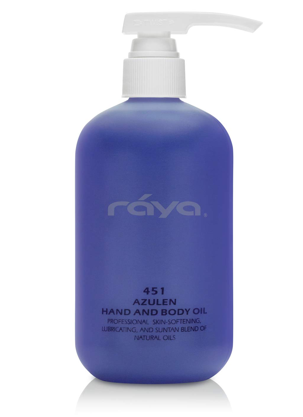RAYA Azulen Hand and Body Oil Natura 16 451 Spring new New color work oz Softening