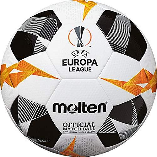 Molten Fußball UEFA Europa League 5003, weiß/schwarz/orange, Größe 5