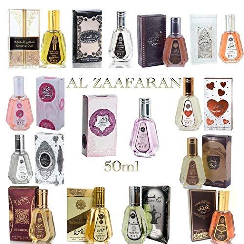 Ard Al Zaafaran 50ml Eau de Parfum Véritable Attar Musk Oud Haute Qualité (Safeer Al Oud)