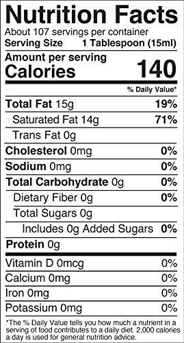 Product Image 4: Viva Naturals Organic Extra Virgin Coconut Oil (54 Oz) – Non-Gmo Cold Pressed