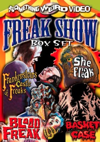 The Freak Show Box Set (Frankenstein's Castle of Freaks / She Freak / Blood Freak / Basket Case)