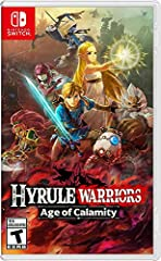 See Hyrule 100 years before the Legend of Zelda: Breath of the Wild game and experience the events of the great calamity Join the struggle that brought Hyrule to its knees. Learn more about Zelda, the four champions, the King of Hyrule and more throu...