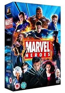 Marvel Heroes : X-Men / X-Men 2 / X-Men 3 The Last Stand / Elektra / Daredevil / Fantastic Four (6 Disc Box Set) [2006] [DVD] (B000KF0WL2) | Amazon price tracker / tracking, Amazon price history charts, Amazon price watches, Amazon price drop alerts